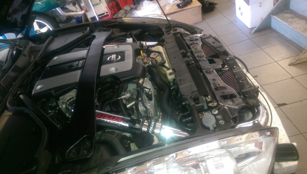 370Z induction kit